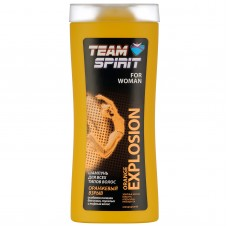 """TEAM SPIRIT - Шампунь для всех типов волос  """"ОРАНЖЕВЫЙ ВЗРЫВ"""" (ORANGE EXPLOSION)"""