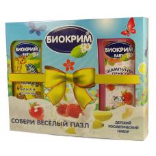 Набор Биокрим детский 2 предмета с пазлом (шампунь-пенка 200мл - 2шт.)