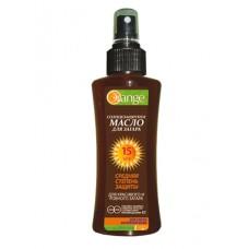 "Солнцезащитное масло для загара ""Orange"" фактор защиты SPF 15 100мл."